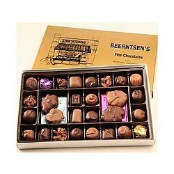 Homemade Chocolate Assortment Gift Box