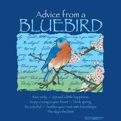 Advice From a Bluebird T-Shirt
