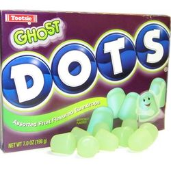 Ghost Halloween Dots Candy Box