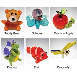 Tynie Glass Animal Miniatures Set 2