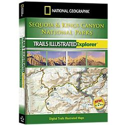 Sequoia and Kings Canyon National Park Explorer 3D Software