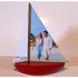Personalized Valentine Photoboat