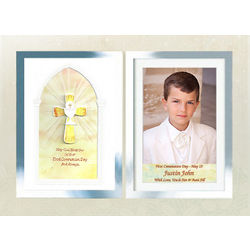 First Communion Picture Frame for Boys