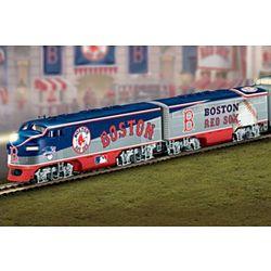 Major League Baseball Illuminated Train