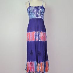 Tie Dye Travels Dress