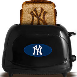 MLB Official Professional Sports Black Toaster
