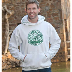 Personalized Irish Harp Hoodie