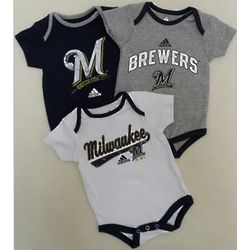 Milwaukee Brewers Newborn Bodysuit