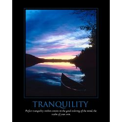 Tranquility Personalized Print