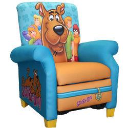 Scooby-Doo Paws Kids Recliner
