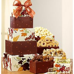 Falling Leaves Sweets Tower