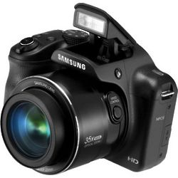 16.2 Megapixel Black Smart Digital Camera with 35X Zoom
