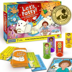 Let's Potty! Potty Training Board Game