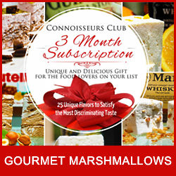 12 Gourmet Marshmallows - 3 Month Subscription