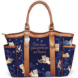 Smitten with Kittens Women's Shoulder Tote Bag
