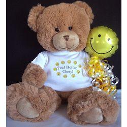 Personalized Feel Better Bear
