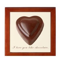 I Love You Like Chocolate Box