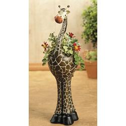 Giraffe Flowerpot