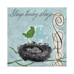Sleep Wall Art Canvas Reproduction