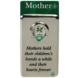 Mother Claddagh Metal Magnet