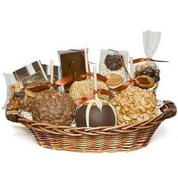 Signature Gourmet Caramel Apple Gift Basket