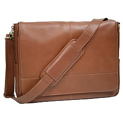 Soft Leather Messenger Bag