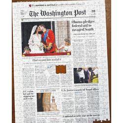 Washington Post Front Page Puzzle