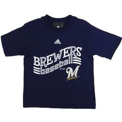 Milwaukee Brewers Curveball Toddler T-Shirt
