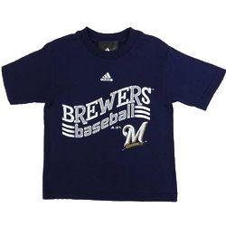 Milwaukee Brewers Curveball Toddler T-Shirt