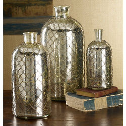 Troy Mercury Glass Bottles
