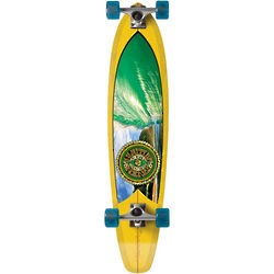 Green Machine Longboard Complete Skateboard