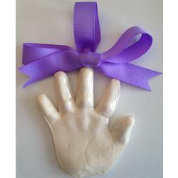 3D Handprint or Footprint Ornament