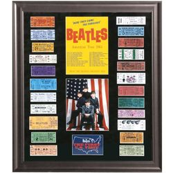 The Beatles 1964 US Tour Tickets Framed Replicas