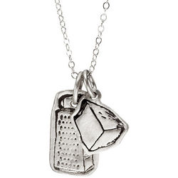 Charming Pastimes Cooking Pendants Necklace