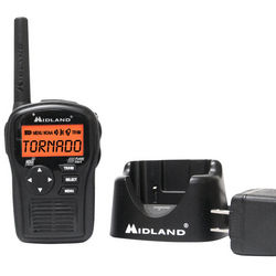 Portable Weather Alert Radio with Charger and Battery Pack