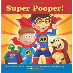Super Pooper Potty Training Book