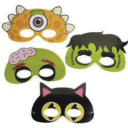 Make-a-Mask Stickers & Labels Set