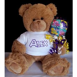 Personalized Get Well Bear
