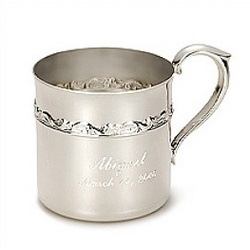 Personalized Ornate Rose Child Cup