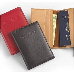 Plain Leather Passport Cover