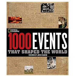 1000 Events That Shaped The World Book