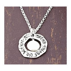 Great Things Lie Within Necklace