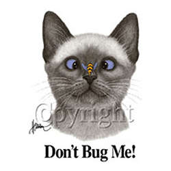 Don't Bug Me Cat Cotton T-Shirt
