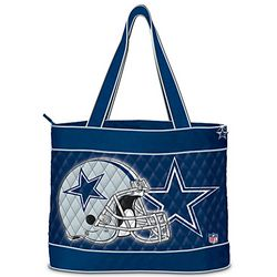 NFL Tote Bags with 2 Cosmetic Cases