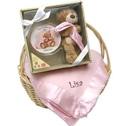 Thank Heaven for Little Girls Gift Basket