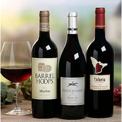 Cabernet, Pinot Noir and Merlot Gift Set