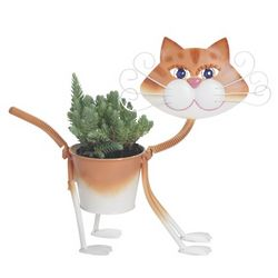 Georgina the Painted Glamour Cat Planter