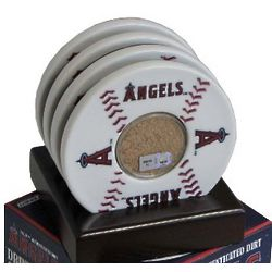 Major League Baseball Game Used Infield Dirt Coasters