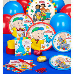 Caillou Standard Birthday Party Pack