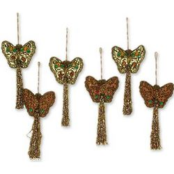 Holiday Butterflies Ornaments